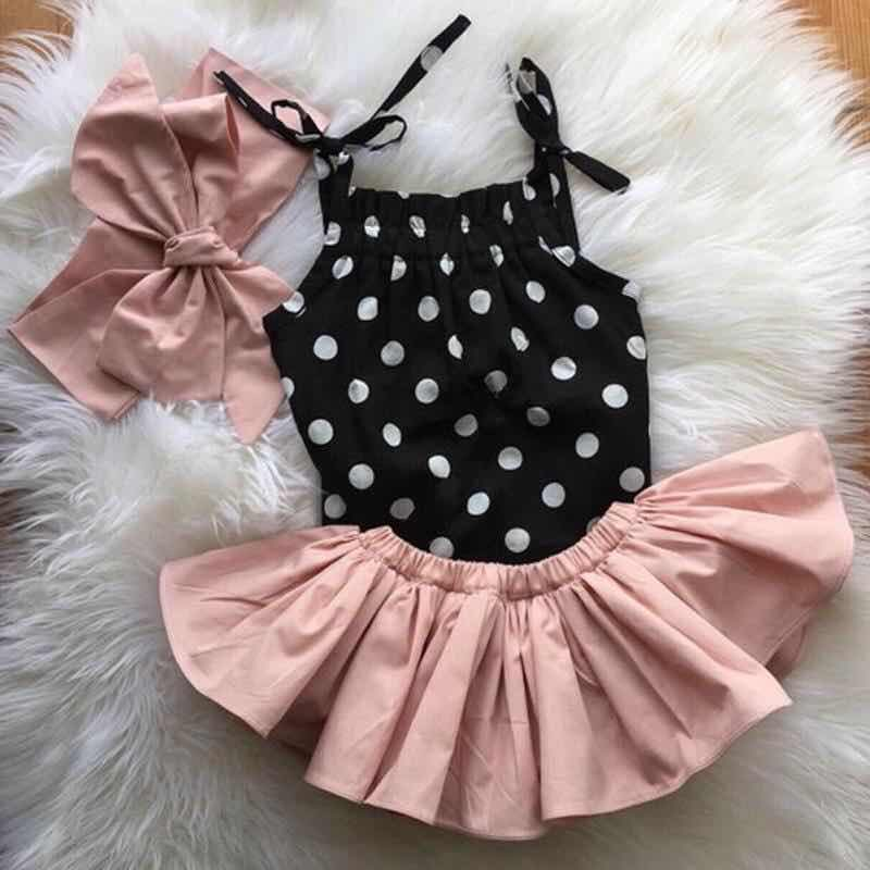 POLKA DOTS SKIRT SET