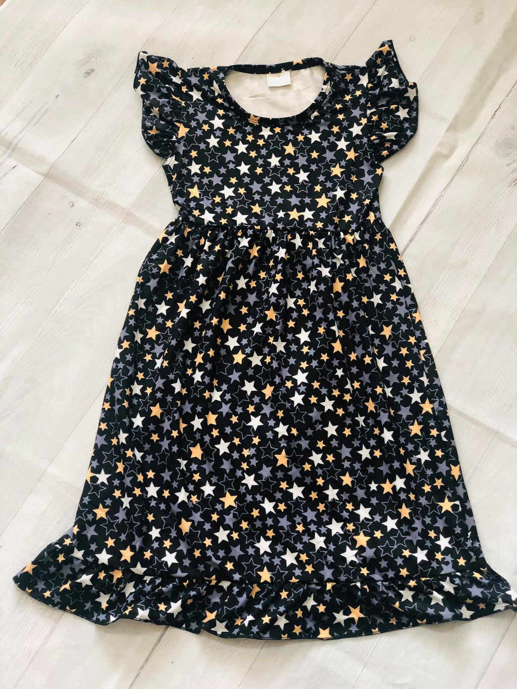 NEW YEARS EVE STARS NIGHTGOWN
