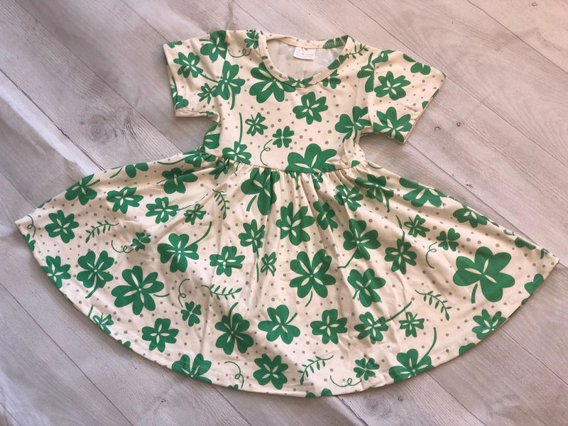 ST PATRITCK SHAMROCK TWIRL DRESS