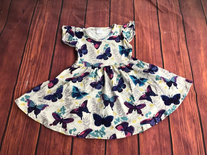 BUTTERFLY TWIRL DRESS