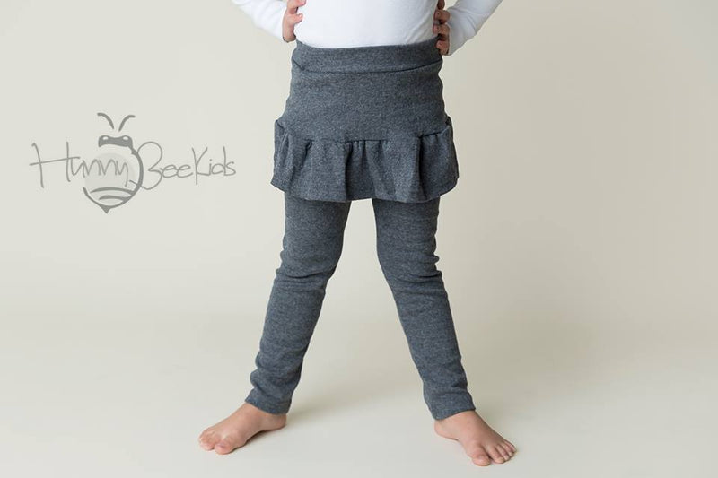 SKIRT LEGGINGS - GRAY