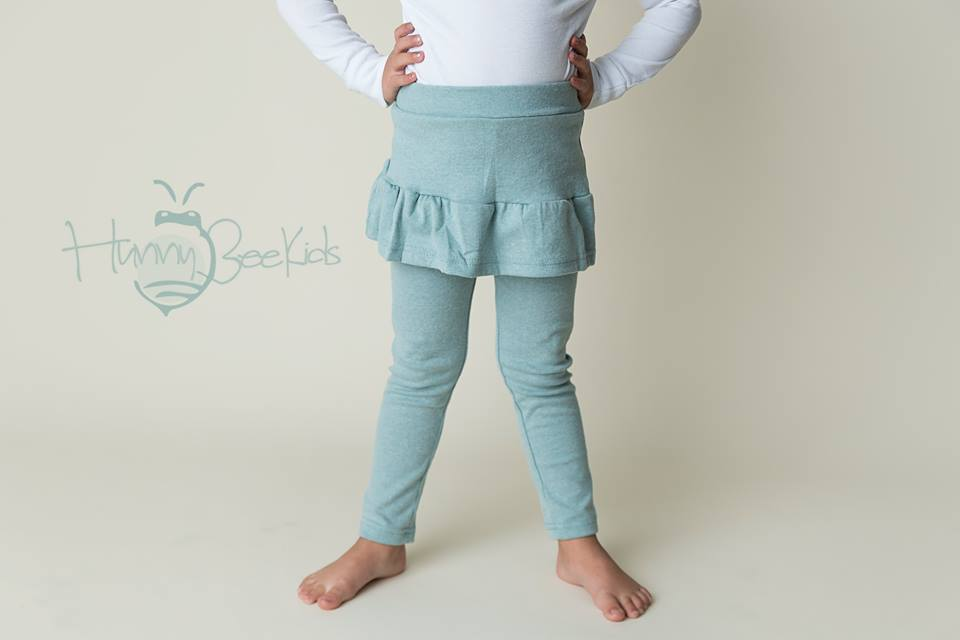 SKIRT LEGGINGS - OCEAN