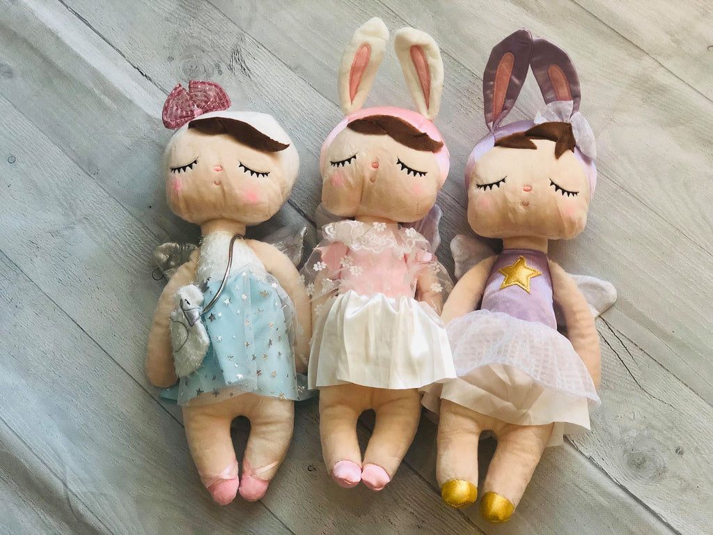 CUDDLING DOLLS - 3 COLORS