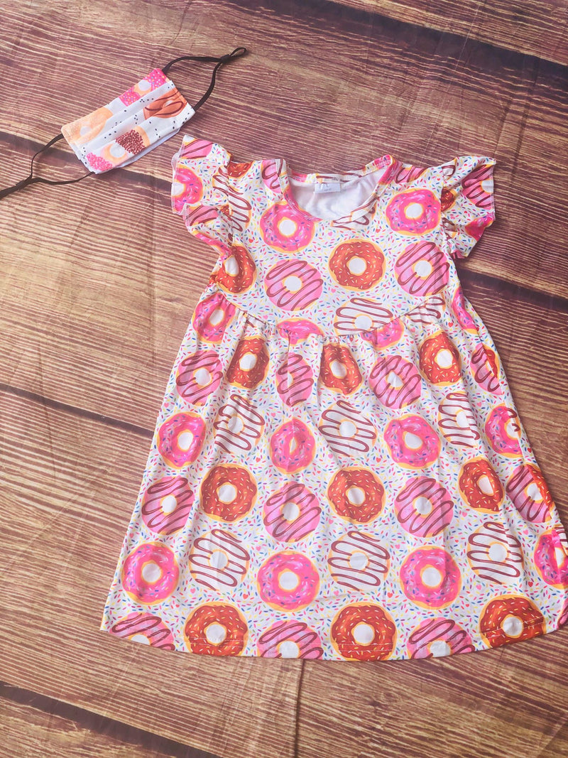 DONUTS MILK SILK DRESS