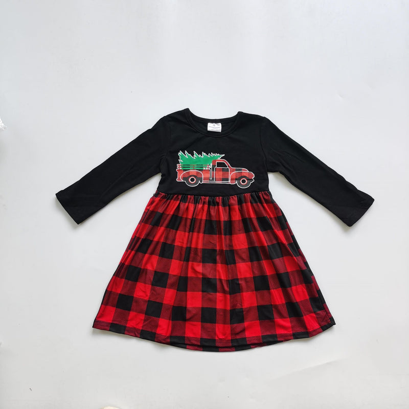 PLAID TRUCK DRESS