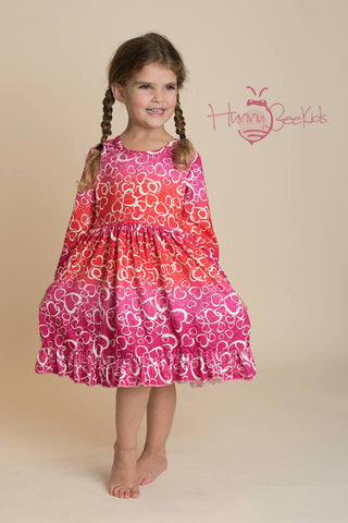 VALENTINE HEARTS MIA DRESS