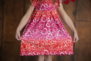 VALENTINE HEARTS PEARL DRESS