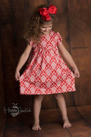 DAMASK PEARL DRESS