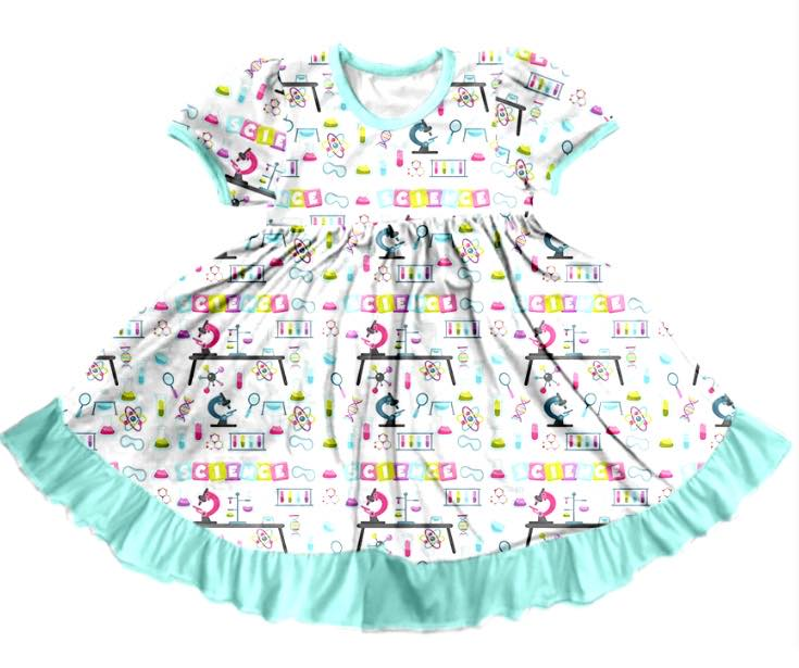 SCIENCE TWIRL DRESS - PREORDER