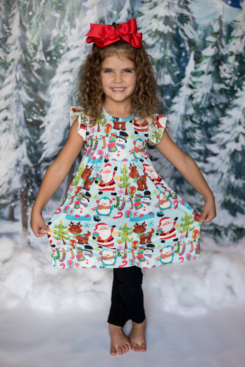 HAPPY CHRISTMAS PEARL DRESS