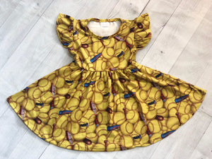 SOFTBALL TWIRL DRESS