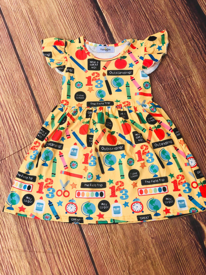 OUTSTANDING BACK TO SCHOOL DRESS