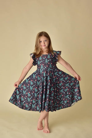 CHRISTMAS TREE TWIRLY DRESS