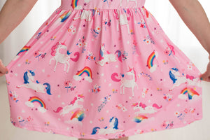 UNICORN MILK SILK DRESS
