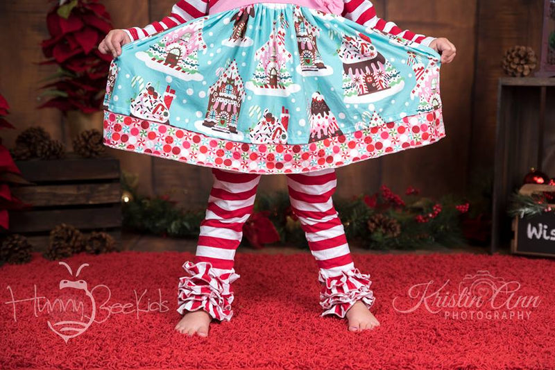 CANDY CANE ICING LEGGINGS