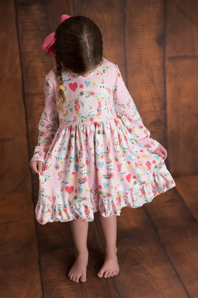 VALENTINE UNICORN MIA DRESS