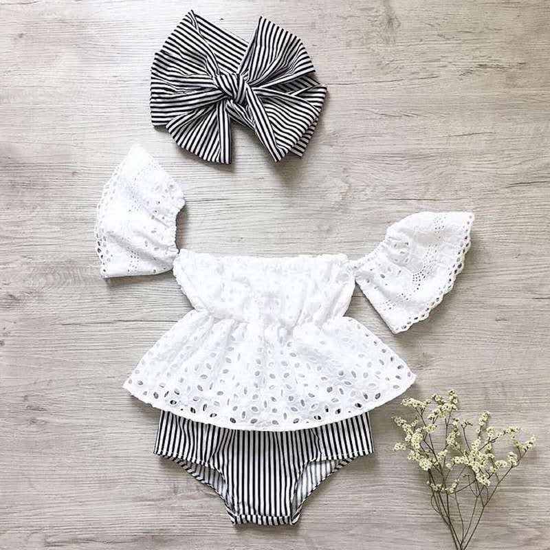 STRIPE BLOOMER SET