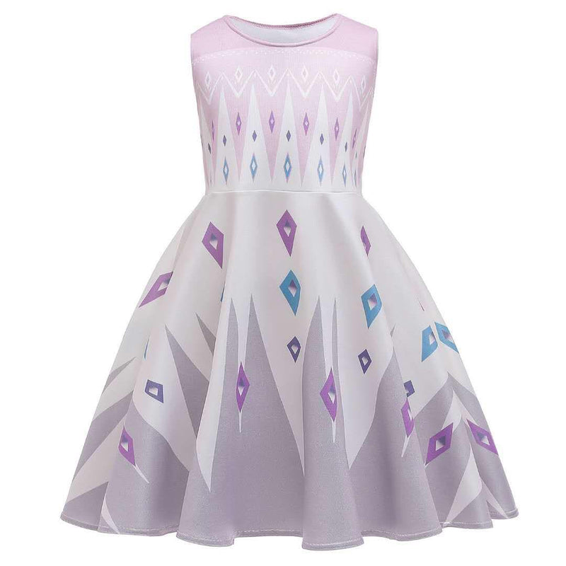 ICE PRINCESS MILK SILK DRESS PINK/GREY PRESALE