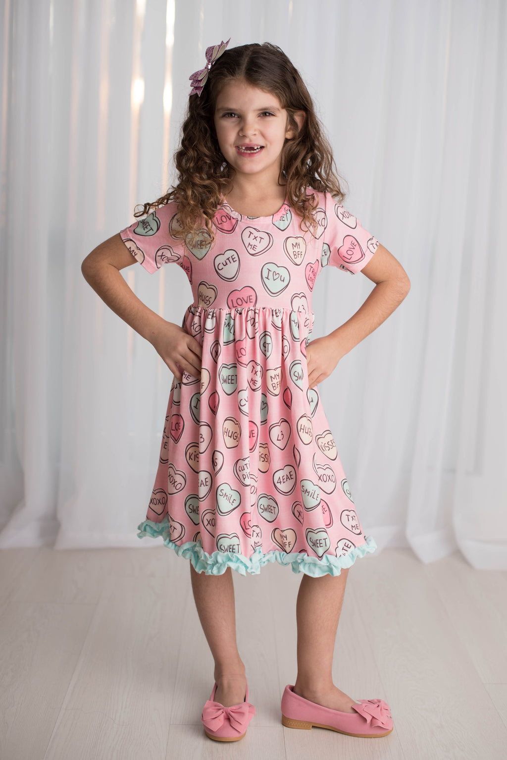 VALENTINE CANDY HEARTS DRESS