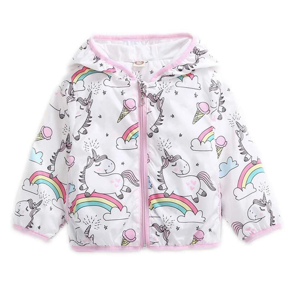 WHITE UNICORN WINDBREAKER JACKET - PRESALE