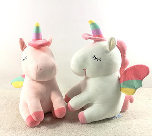 UNICORN SOFT PLUSH - 2 COLORS -