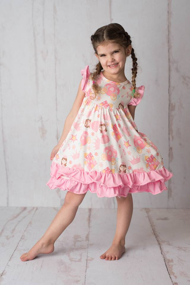 PRINCESS FLUTTER DRESS