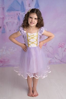 PRINCESS COLLECTION - LONG HAIR PRINCESS DRESS