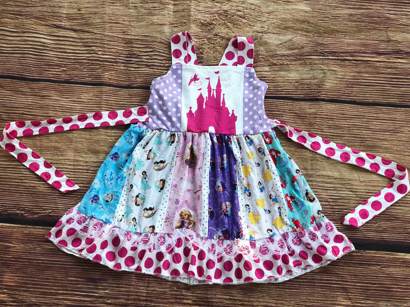 PRINCESS COLLECTION - CASTLE DRESS