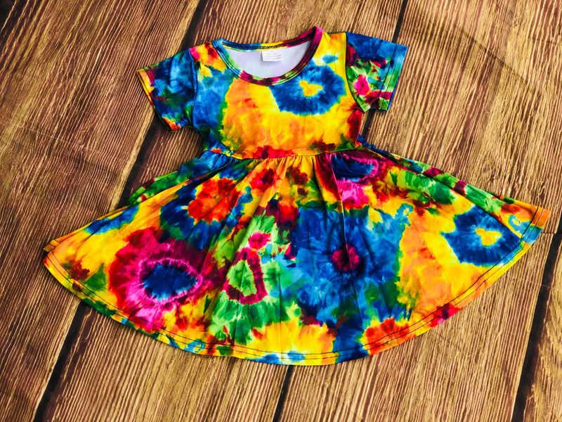 SAMMY TYE DYE TWIRL DRESS