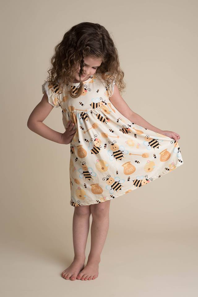 HONEY BEE PEARL DRESS