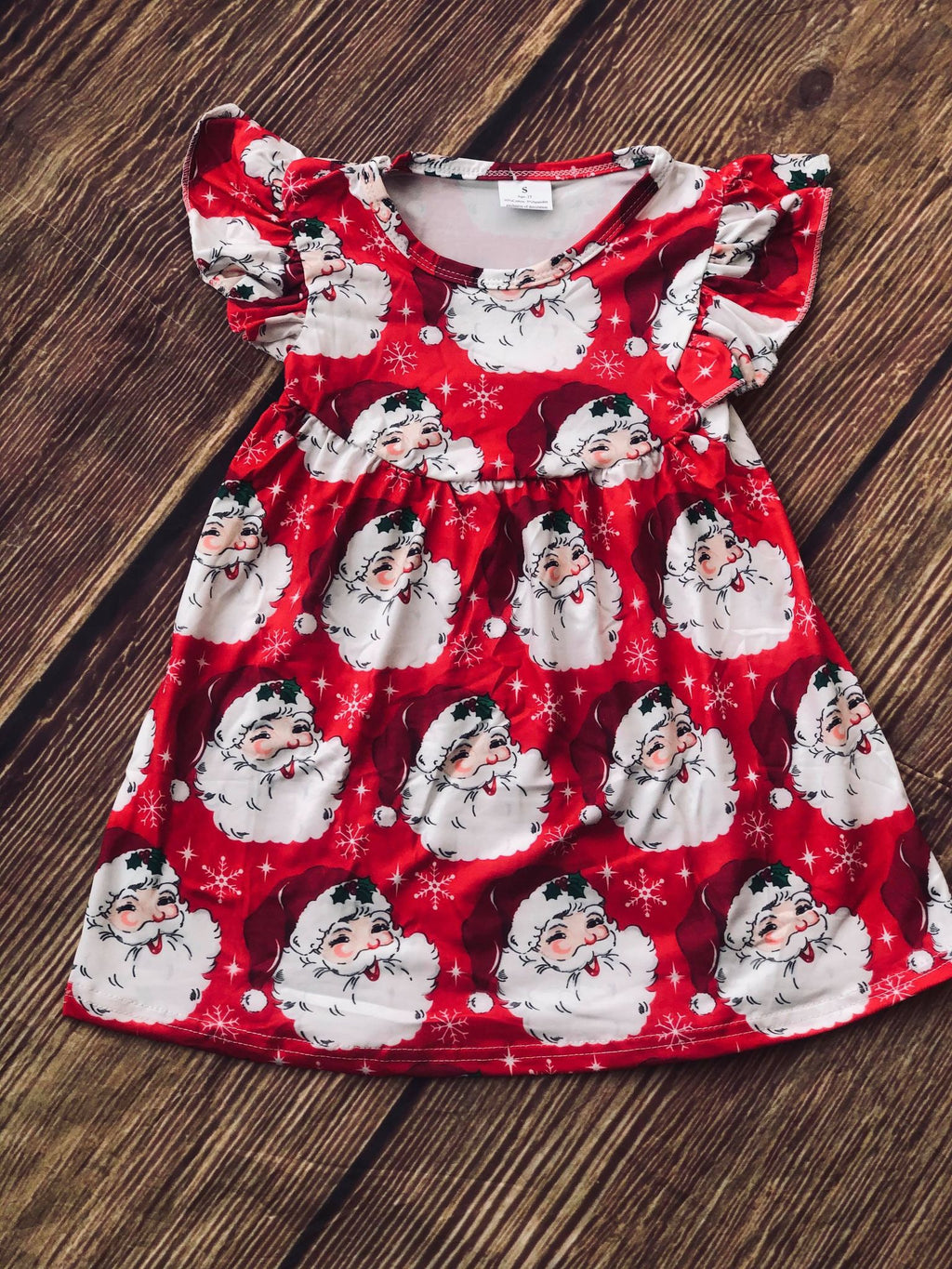SANTA MILK SILK DRESS