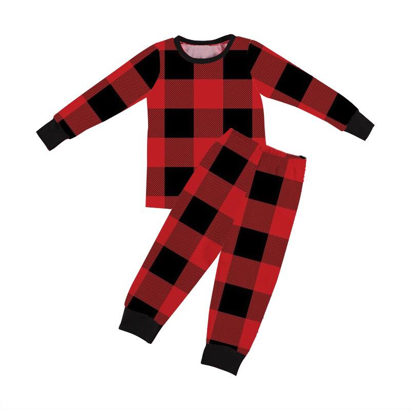 BUFFALO PLAID PJS - PREORDER