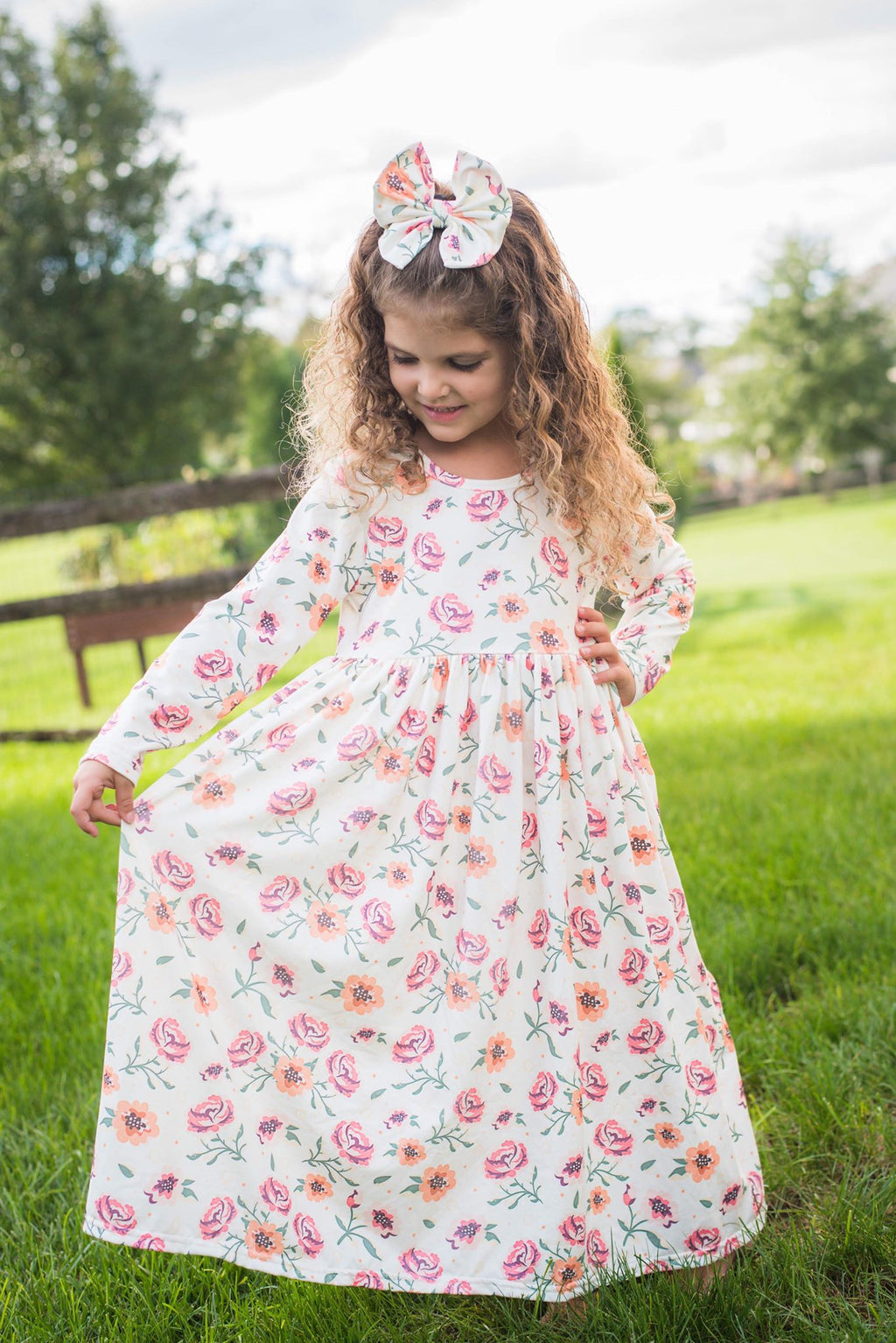 SAVANNAH FLORAL MAXI DRESS