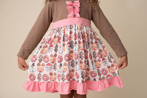 CHRISTMAS DONUTS DRESS