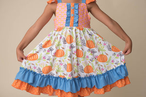 RAE PUMPKIN DRESS