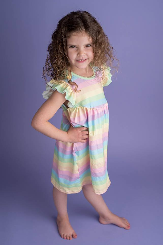 RAINBOW PEARL DRESS