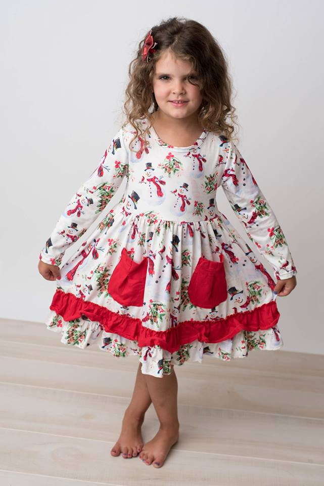 SNOWMAN AUBREY DRESS