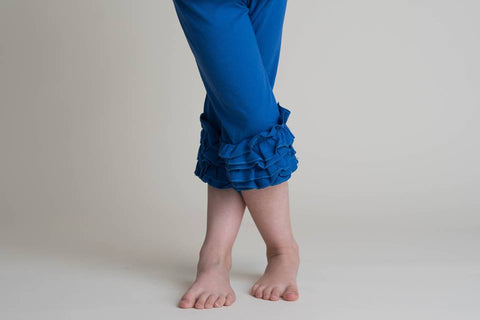 ICING CAPRIS - ROYAL BLUE
