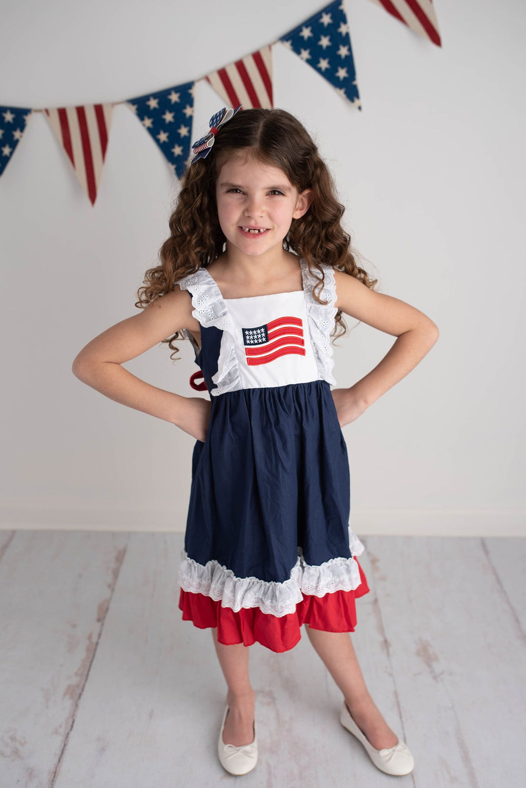 MIKAYLA FLAG DRESS