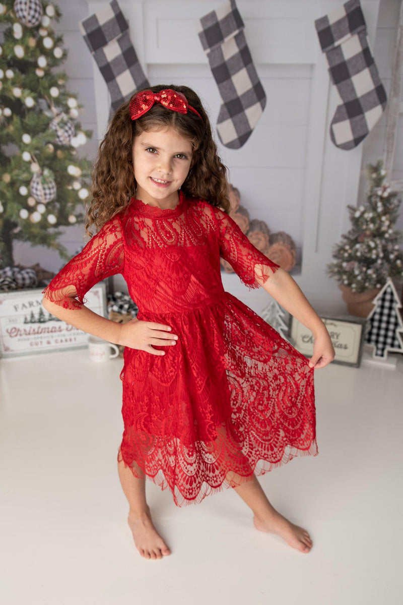 DELILAH RED DRESS