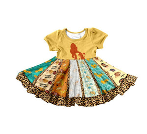 THE LION TWIRL DRESS  - PREORDER