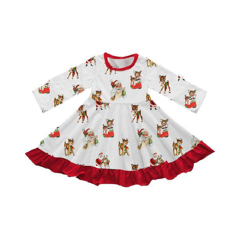SANTA VINTAGE TWIRL DRESS