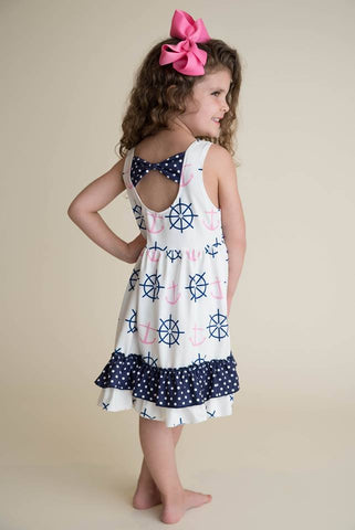 MADELYN NAUTICAL DRESS