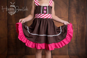 GINGERBREAD COOKIE DRESS