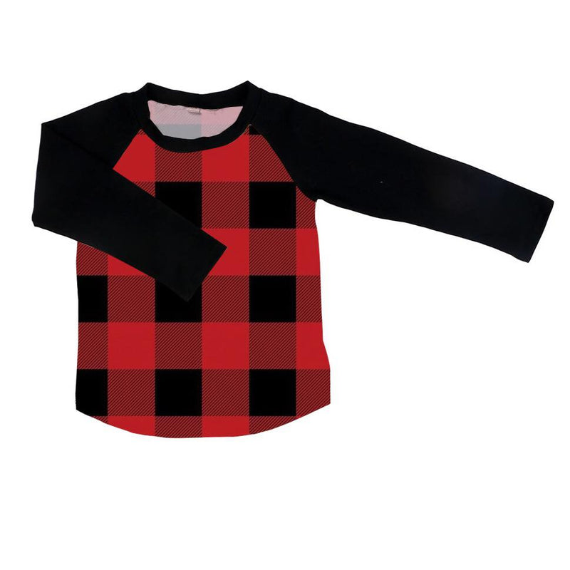 BUFFALO PLAID RAGLAN - PREORDER