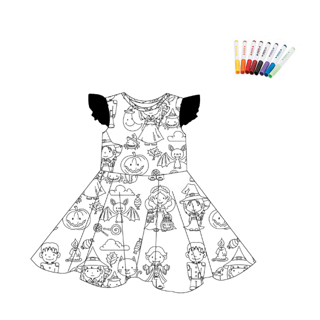 COLOR YOUR DRESS - HALLOWEEN - 2ND PREORDER