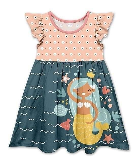 MERMAID MILK SILK DRESS - 2ND PREORDER