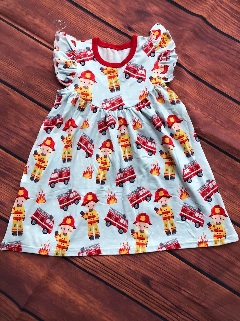FIRE FIGHTER PEARL DRESS - PREORDER