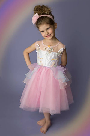UNICORN TULLE DRESS - 3 COLORS