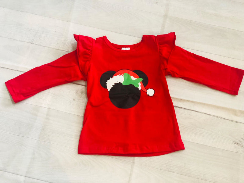 CHRISTMAS SANTA HAT TOP